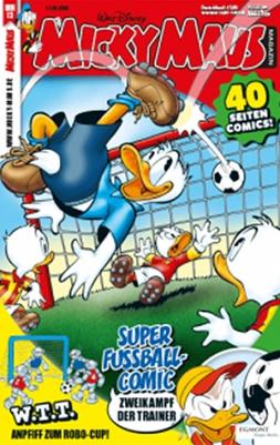 Micky Maus Abo (26 Ausgaben) für 113,10 mit 75 € BestChoice-Gutschein/ 55€ Verrechnungsscheck