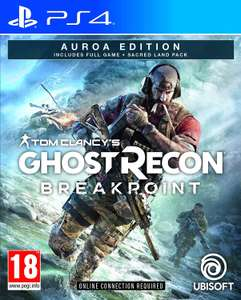 Tom Clancy's Ghost Recon: Breakpoint Auroa Edition - PlayStation 4 für 15,50€ (Coolshop)