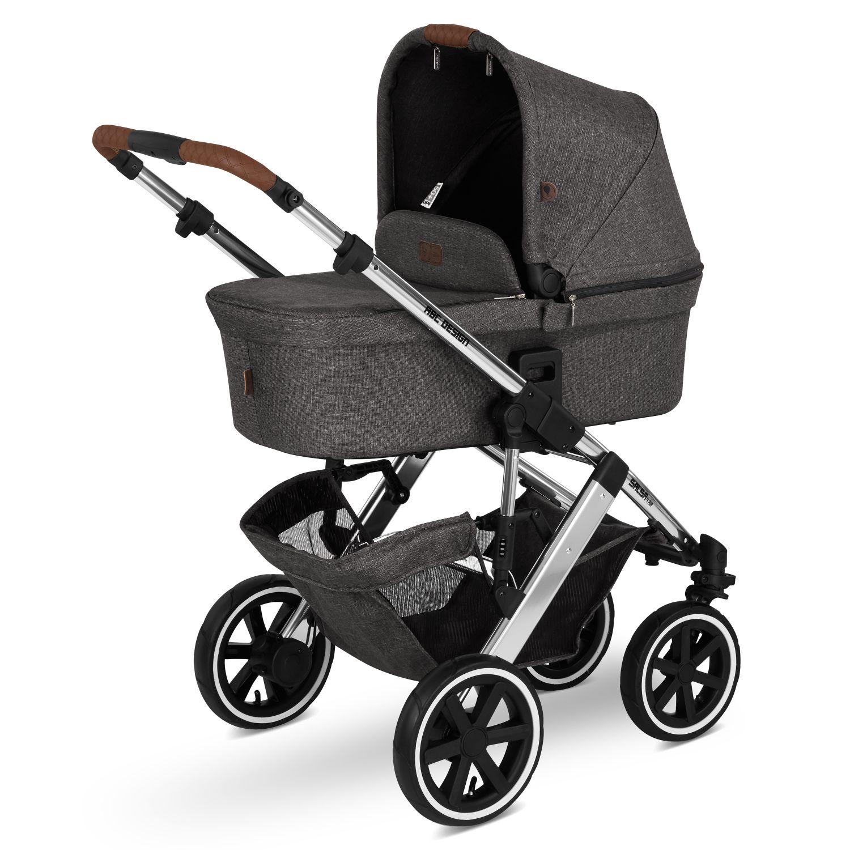 ABC Design Kombi-Kinderwagen Salsa 4 Air Diamond Edition asphalt oder rose gold