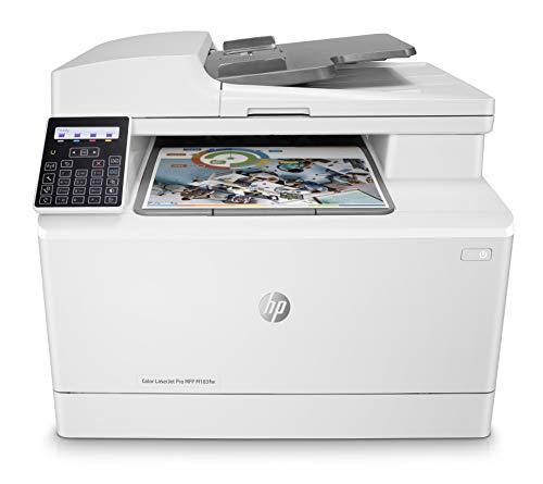 HP Color LaserJet Pro MFP M183fw - 4in1 Multifunktionsdrucker, Farblaser, A4 600x600dpi 16 S/min (s/w /Farbe) mit Toner max. 150 Blatt
