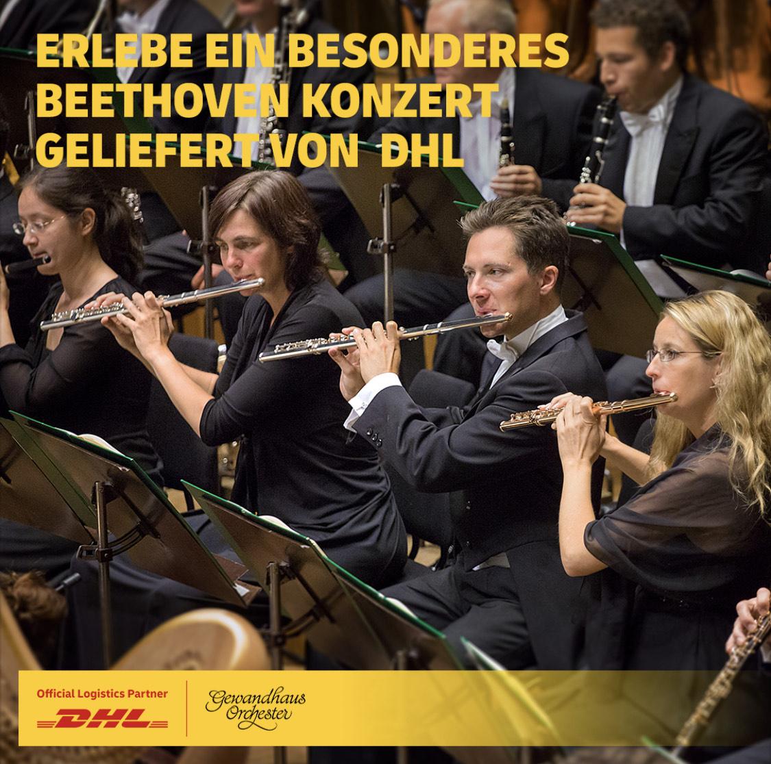 DHL: bis 12.07. Gewandhausorchester - Ludwig van Beethovens 9. Sinfonie im Stream