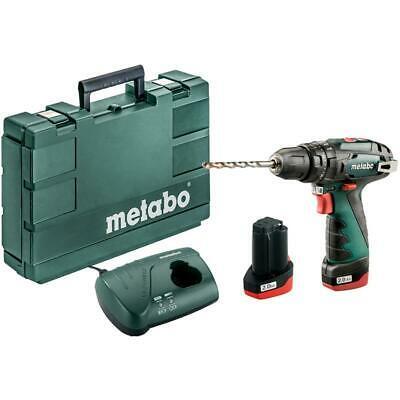 Metabo PowerMaxx SB Schlagbohrmaschine inkl. 2 x Akku und Ladegerät im Koffer für 79,99€