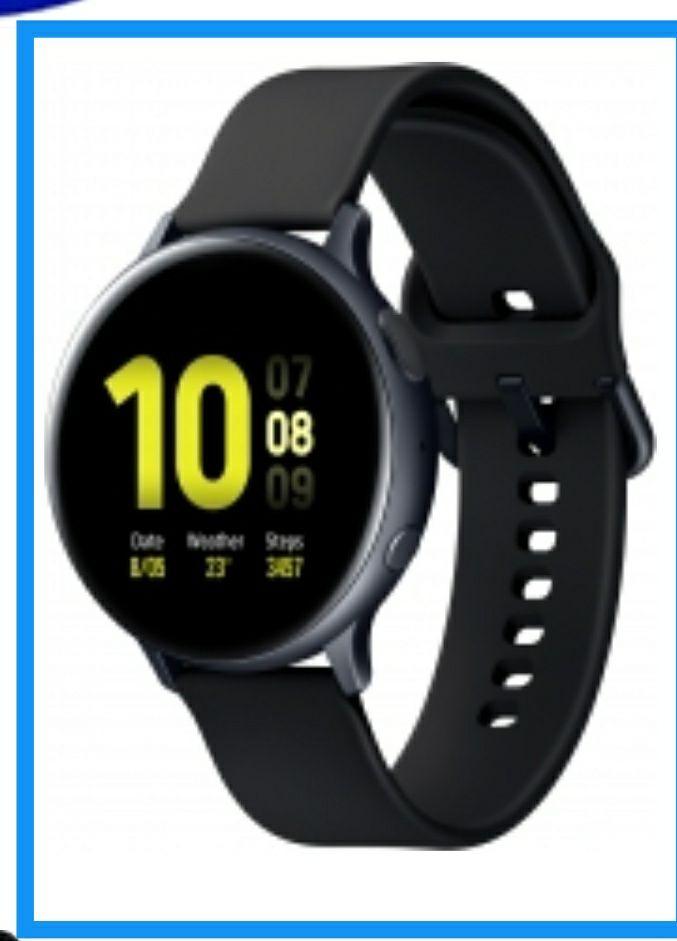 *Kost. Versand nicht bei Bezahlung bei der Zustellung * Samsung Galaxy Watch Active 2 44mm Silikon Schwarz