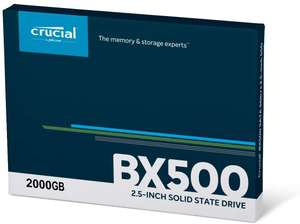 "Speicherwoche [KW28] - Tag 2: z.B. Crucial BX500 2TB SSD | WD Elements 2TB 2.5"" - 57,51€ 