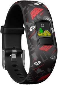 Garmin Vivofit jr. 2 - Action-Watch für Kinder (Star Wars, Frozen, Minnie Mouse, Spider-Man, Captain America) 365 Tage Akku