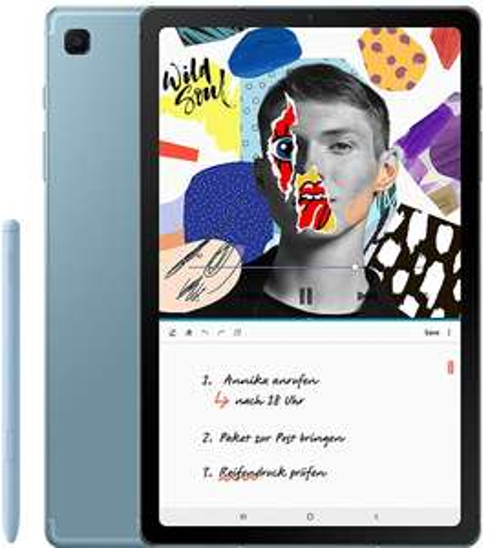 "[MM-ebay] Samsung Galaxy Tab S6 Lite - 10.4"" WiFi Tablet (4GB/64GB, USB-C, Bluetooth 5.0, NFC) in Angora Blue inkl. S Pen"