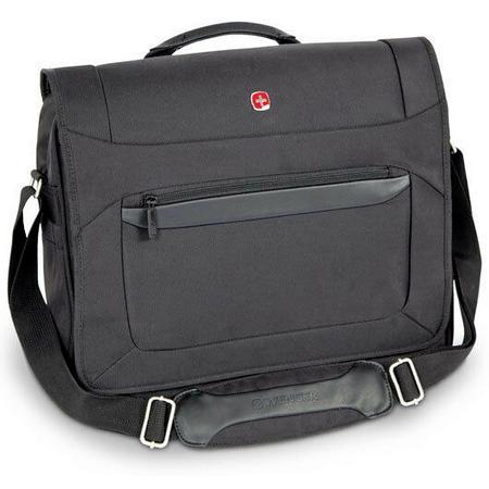 """Wenger Notebook-Tasche W73012292 (Haupt- & Laptop-Fach bis 16"""", verstellbarer Schultergurt, gepolstertetes Rückenteil, 1200g)"""