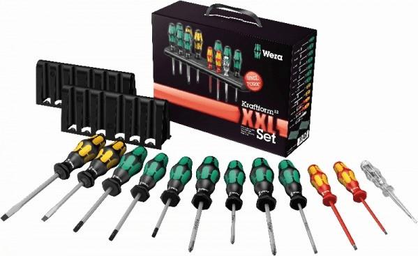Wera Kraftform XXL TX Werkstatt Schraubendreher-Set 12teilig für 29,72€ mit SÜ inkl. Versandkosten