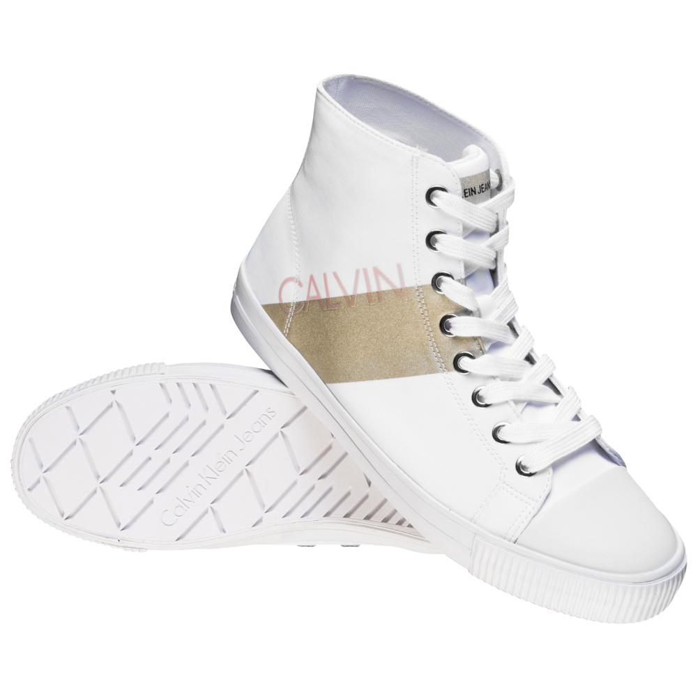 [SportSpar] Calvin Klein Jeans Dalma Damen High Top Sneaker (Gr. 35 - 41) für 43,94€