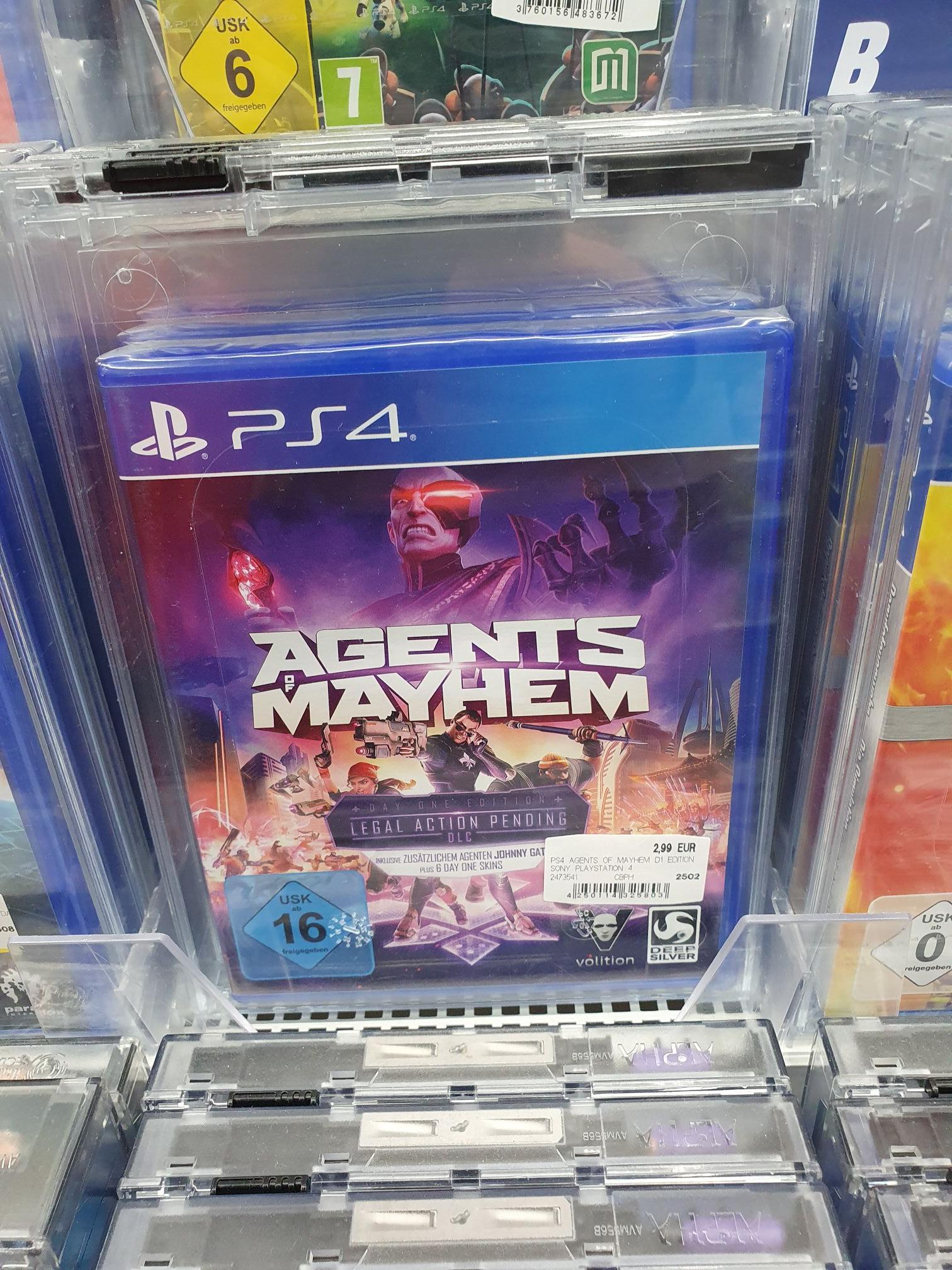 [Media Markt Tegel] lokal Agents of Mayhem - Day One Edition (PS4)