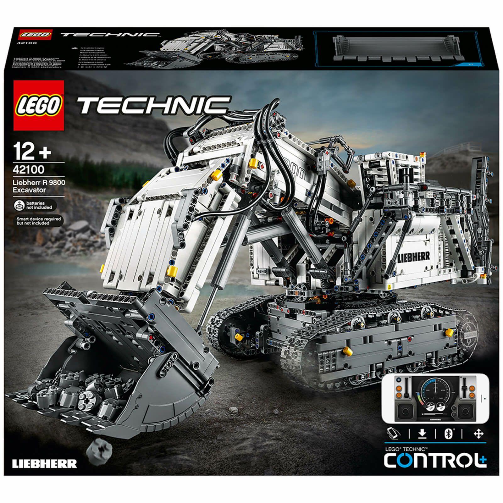 LEGO® Technic™: Liebherr Bagger R 9800 (42100)