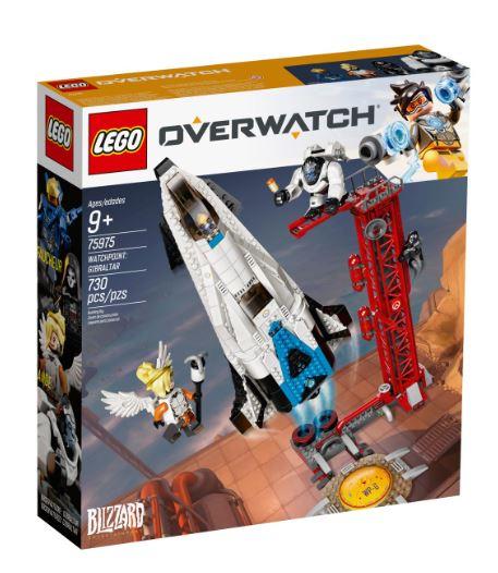 Lego Overwatch Watchpoint Gibraltar 75975 + 30342 gratis dazu