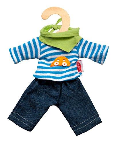 """Heless Puppenkleidung """"Jeans mit Streifenshirt"""" Set, 3-tlg. für 4,87€ (Amazon Prime)"""
