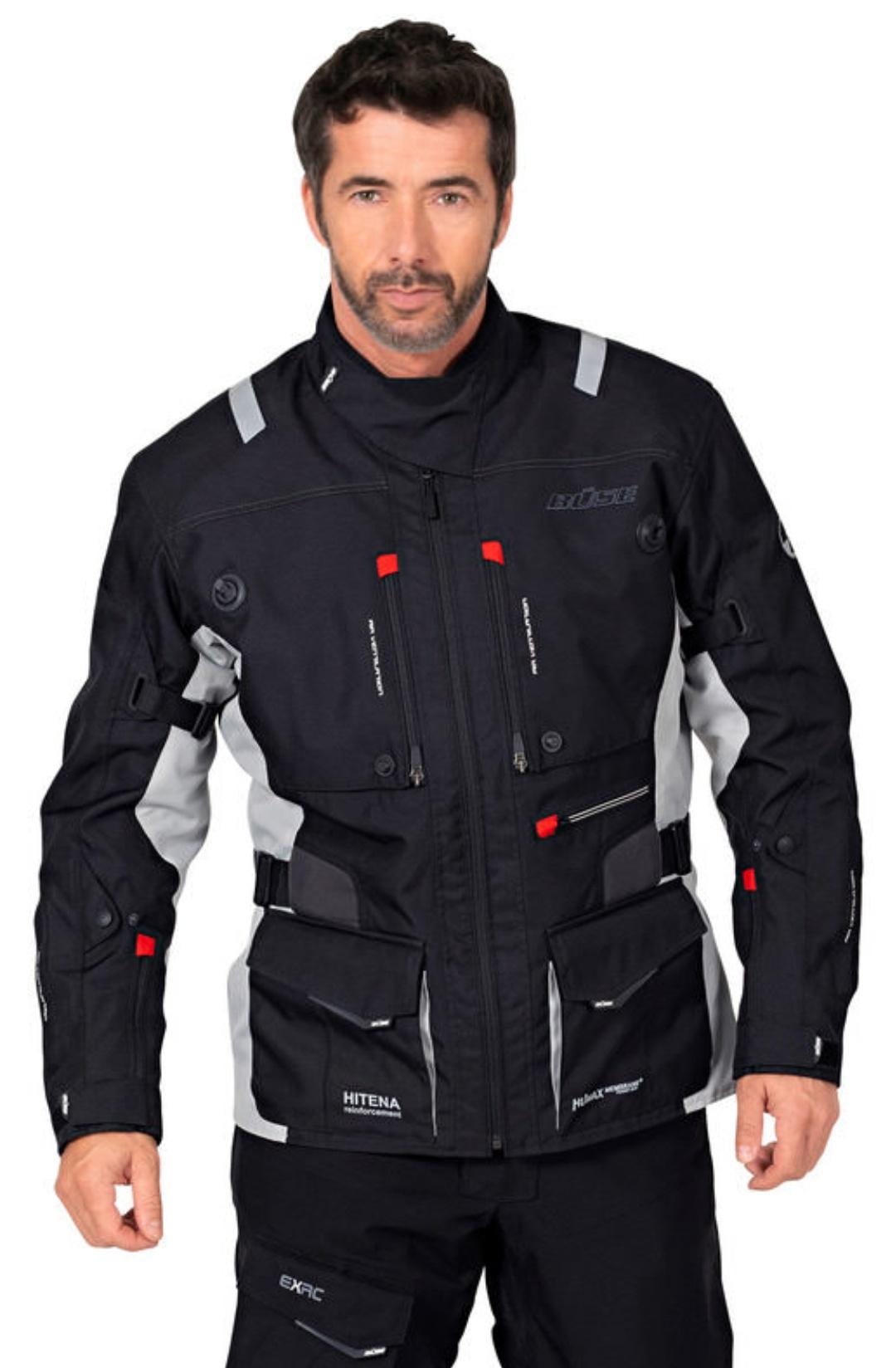 BÜSE TOURSPORT EVO Motorrad Textiljacke durch 20€ Gutscheincode [Onlineshop Louis]