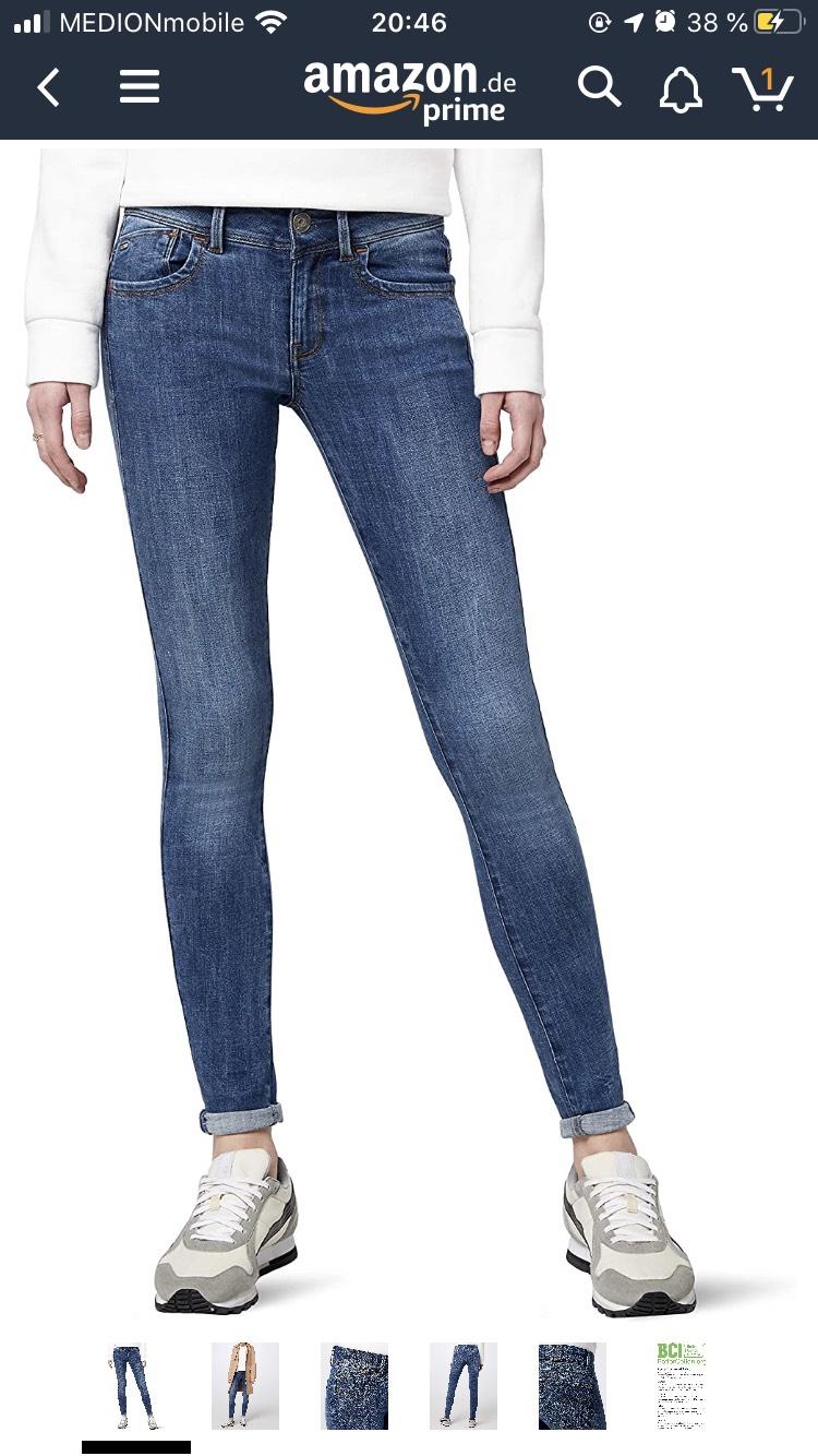 G-Star Jeans Damen zB 23/28 in blau