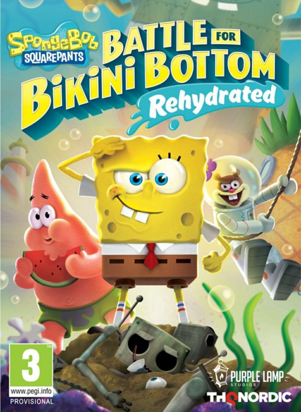 Spongebob SquarePants: Battle for Bikini Bottom Rehydrated für Nintendo Switch und Playstation 4