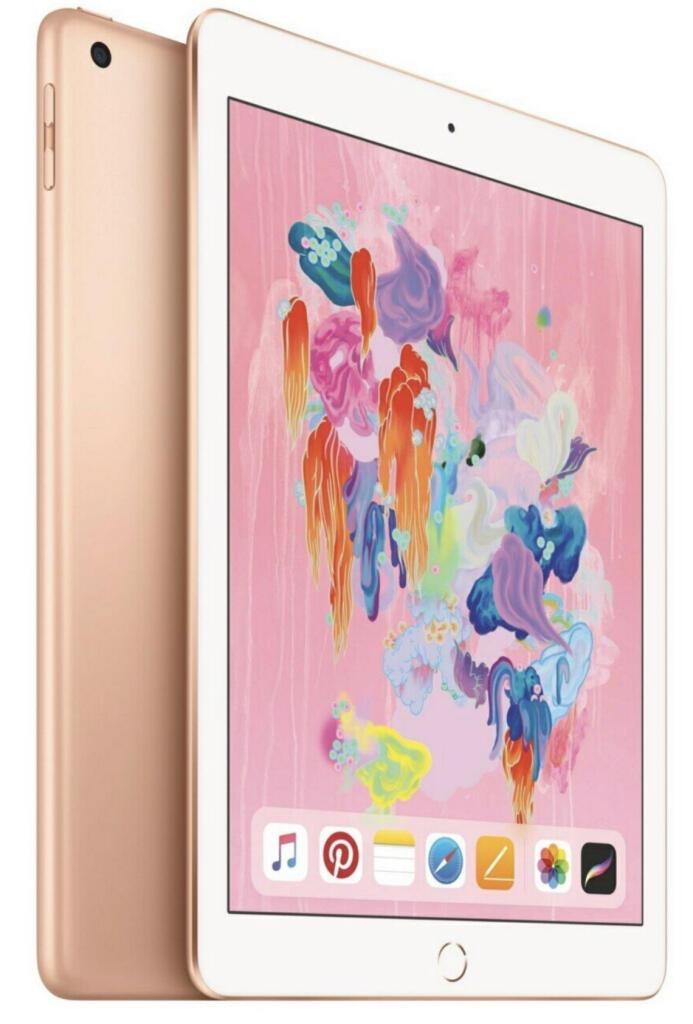 Apple iPad 2018 128GB WiFi + Cellular 4G LTE gold für 350,10€ inkl. Versandkosten [Cyberport ebay]