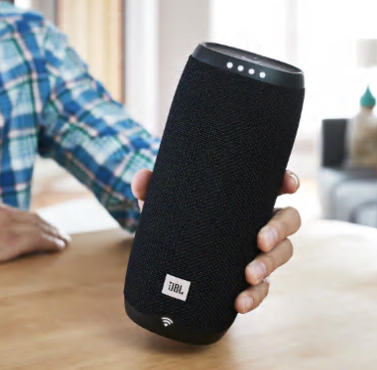 JBL Link 20 Wireless Sprachsteuerung Google Assistant Lautsprecher Multiroom/Bluetooth für 69,99€ inkl. Versandkosten [Cyberport ebay]