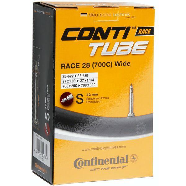 """Rennrad Fahrradschlauch 28"""" 25-622 - 32-630 Continental Race Wide"""