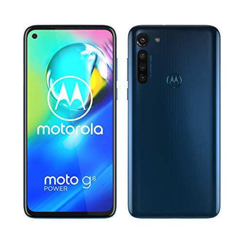 """Motorola G8 Power Blau (6,4"""" FHD+ IPS, 197g, 4/64GB, SD665, Klinke, 5000mAh, AnTuTu 171k) [V&V Amazon]"""