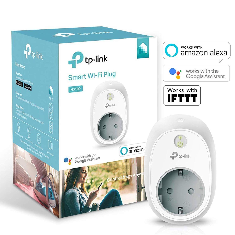 TP-Link Kasa Smart Home Plug WLAN Steckdose HS100 (Amazon Echo, Google & IFTTT) // 3 Stk. für 33,47€