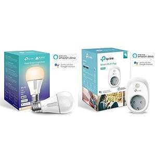 TP-Link Kasa KL110 smarte WLAN Glühbirne + WLAN Steckdose HS100 für 27,87€ (Amazon Spanien)