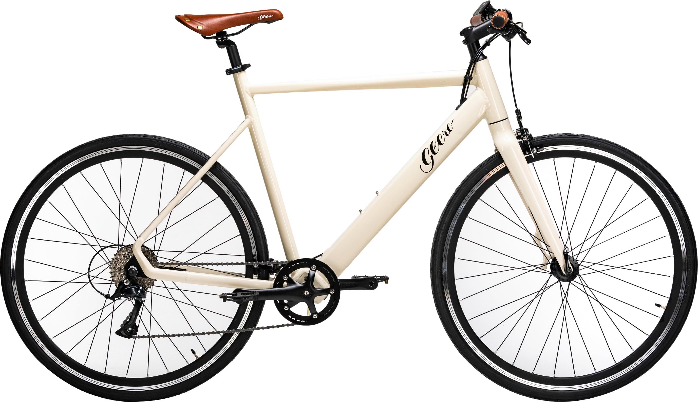 Geero 1 E-Bike Original-Classic in Cream - 54cm / 60cm RH, 15,75kg, 85-125km Reichweite, 420Wh Akku, ca. 3-4h Schnelladetechnik, BOS