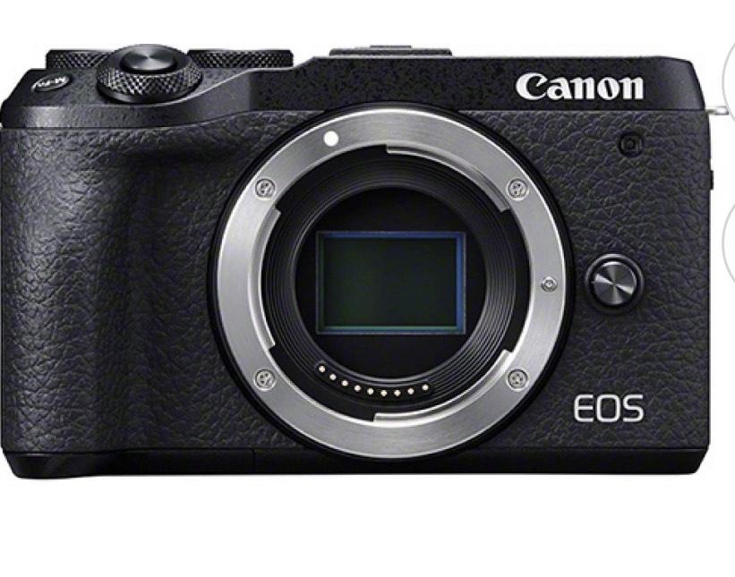 Canon EOS M6 Mark II schwarz -Digitalkamera- NEU!