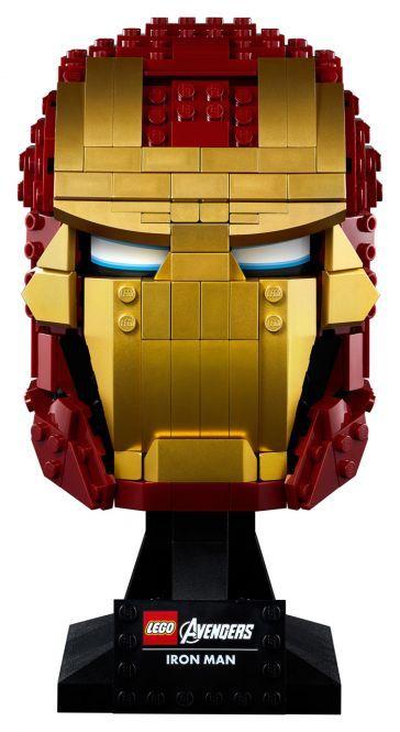 LEGO Marvel Avengers Movie 4 76165 - Iron Mans Helm, vorbestellen, ab 01.08.20 lieferbar, mifus