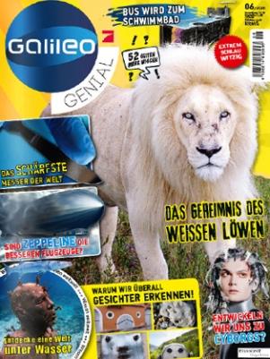 Galileo Genial Abo (10 Ausgaben) für 44 € mit 25 € BestChoice-Universalgutschein oder 20 € Amazon- Gutschein