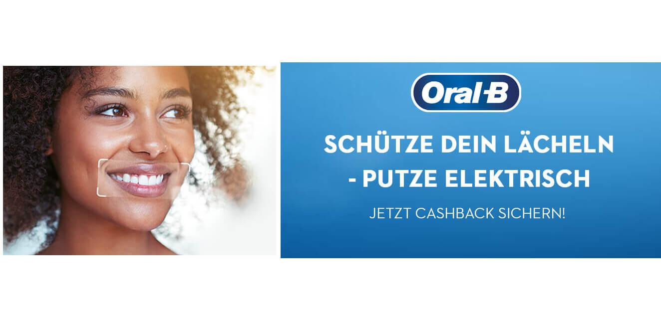 20€ / CHF Cashback auf Oral B Genius oder Smart Expert