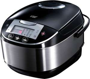 Russell Hobbs Multicooker 5,0l (digitales Display + Timer), 11 Kochprogramme (Schongarer, Dampfgarer, Slow Cooker, Reiskocher [Amazon]