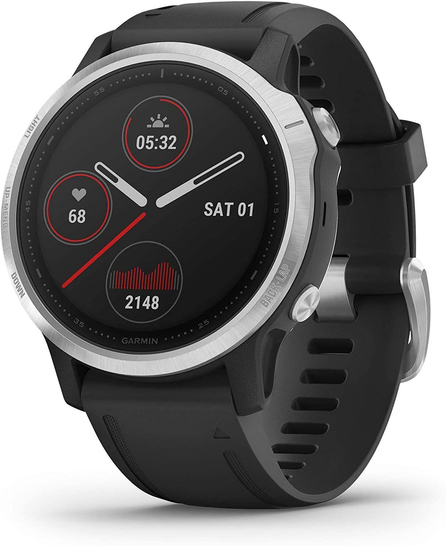 Garmin fenix 6S (+6) Multisport-Smartwatch (GPS, Herzfrequenzmessung, Kontaktlos Bezahlen mit Garmin Pay, wasserdicht, 9 Tage Akkulaufzeit)