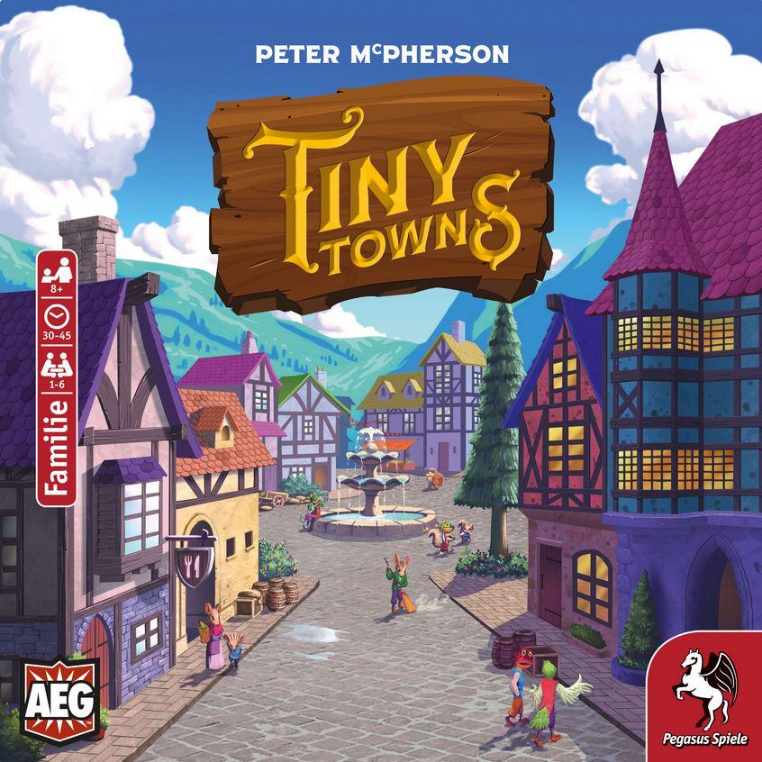Tiny Towns, Gesellschaftsspiel, bestpreis BGG 7.4