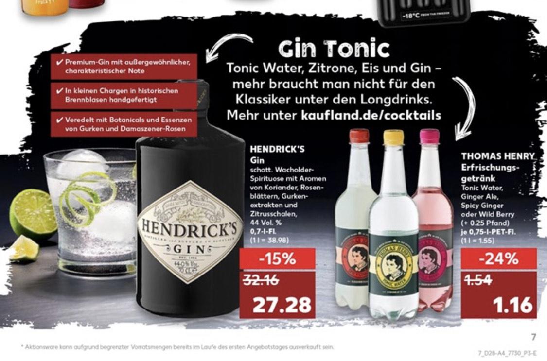 *LOKAL* Hendricks Gin Kaufland