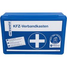 KFZ-Verbandkasten oder -tasche DIN13164-B für 4,99 Euro [Globus SB Warenhaus]