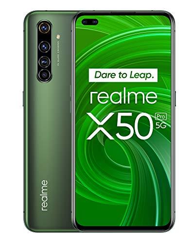 """Realme X50 Pro 5G 12/256GB (6,44"""" FHD+ 90Hz AMOLED, 205g, SD865, NFC, 4200mAh, 65W, AnTuTu 575k) [V&V Amazon]"""