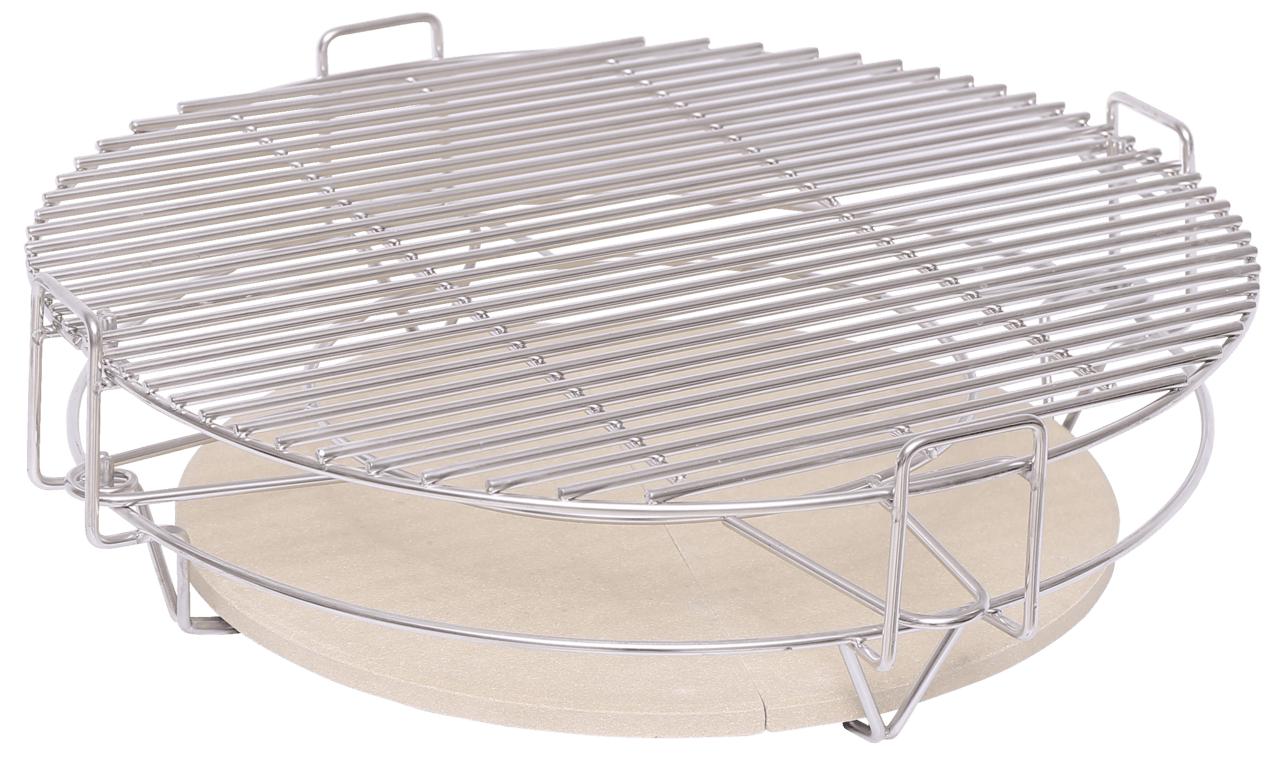 Tarrington House Grilleinsatz Divide & Conquer für 47cm Keramikgrill/Kamado