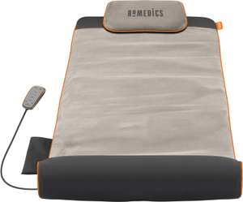 HoMedics YMM-1500-EU Stretch-Massagematte (7 Luftkammern, 4 Programme, 3 Intensitätsstufen, faltbar, inkl. Fernbedienung)