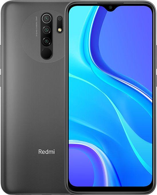 """Xiaomi Redmi 9 3/32GB Grau (6,53"""" FHD+ IPS, 198g, Helio G80, Klinke, NFC, Dual-SIM+SD, 5020mAh, 18W Laden, AnTuTu 203k) [V&V Amazon]"""