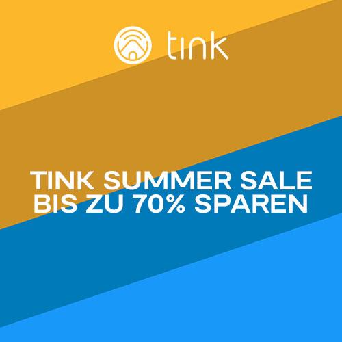 tink Summer Sale: z.B. ABUS, Arlo, AVM, Bosch, Eve, EZVIZ, GARDENA, Google Nest, Philips Hue, Homematic IP, Nuki, OPUS, Ring, Sonos & tado