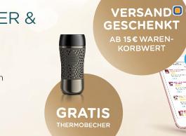 Dolce Gusto Versandkosten sparen + Gratis Thermobecher ab 15 Euro