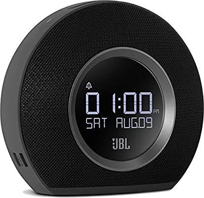 JBL Horizon Wireless Bluetooth Radiowecker mit 2 Weckern und Umgebungsbeleuchtung, FM Radio, 2 USB-Ladeanschlüssen [Amazon & Otto]