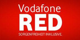 Original Vodafone Red M – Allnet-Flat mit 1GB (21,6Mbit/s) für effektiv monatlich 17,91€ @Logitel