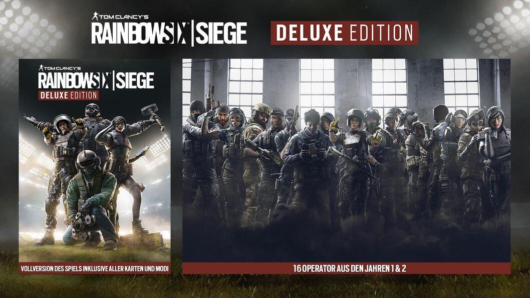 Tom Clancy's Rainbow Six Siege Deluxe Edition für PC (Uplay) -20% von 9,90€