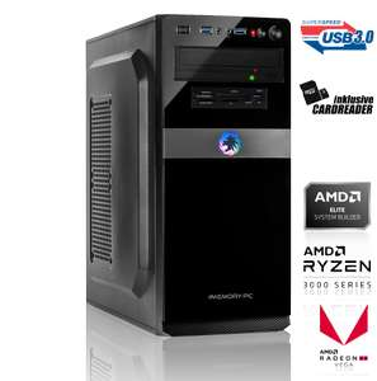 Einsteiger Gaming PC - Ryzen 3 3200G, Radeon RX 580 8GB, 128 GB SSD, 8GB RAM, MSI A320M-A Pro Max für 423,80€ (MemoryPC)