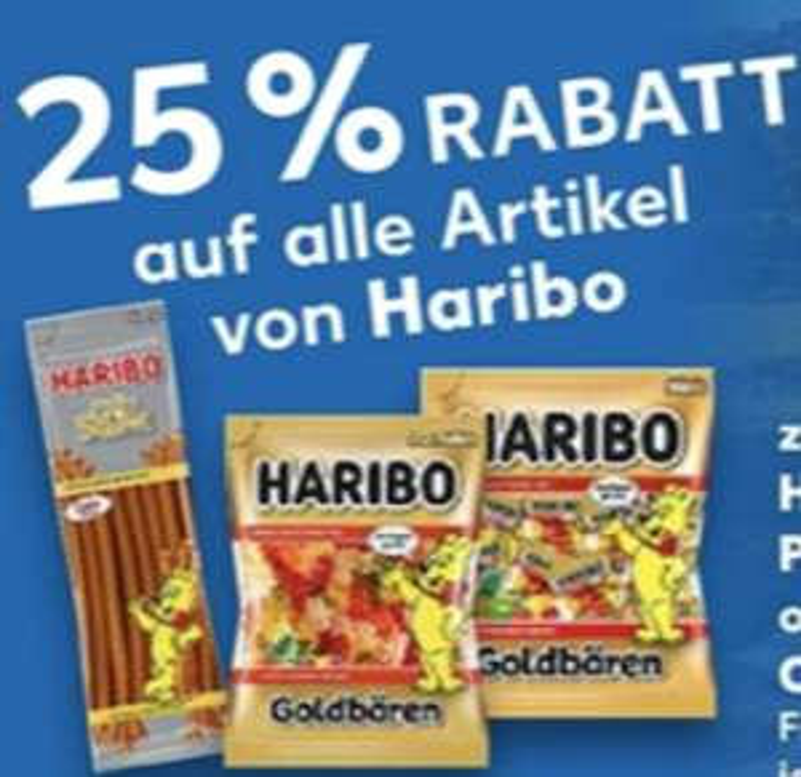 25% Rabatt auf alle Produkte von Haribo: z.B. 1kg Phantasia Party Box für 3,15€ [Kaufland]