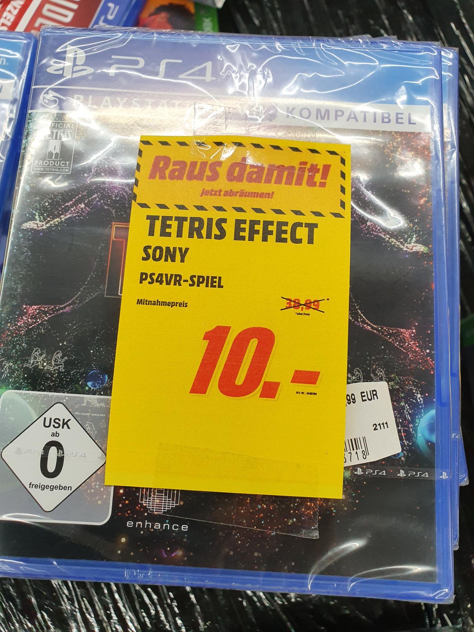Lokal Media Markt Krefeld PS4 VR Tetris Effect oder Astro Bot Rescue Mission