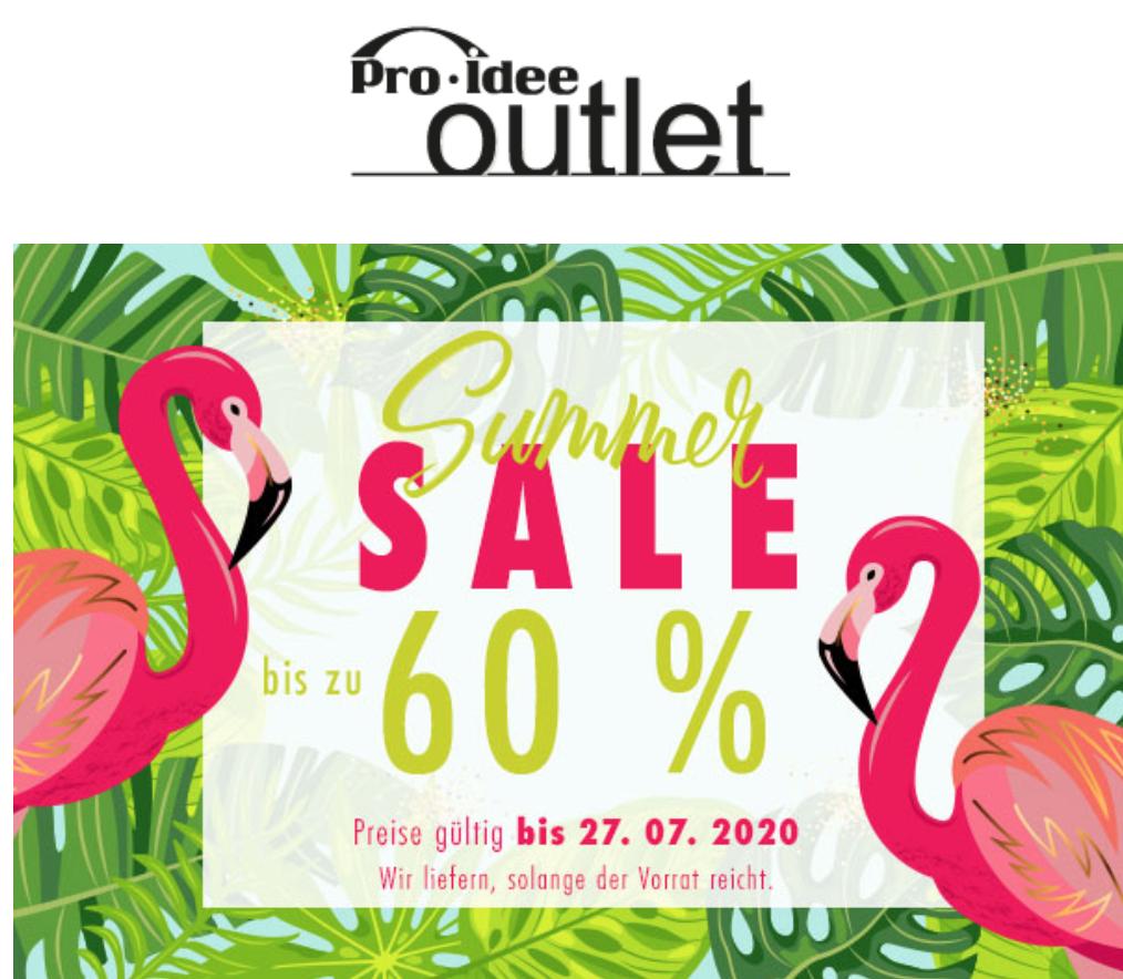 Summer-Sale bei Pro-Idee: Taschen, Schuhe, Klamotten, Bluetooth-Lautsprecher, Küchenhelfer etc.