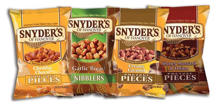 Snyder's of Hanover für nur 0,98€ bei Edeka (Regional, in jedem Fall Region Minden-Hannover)
